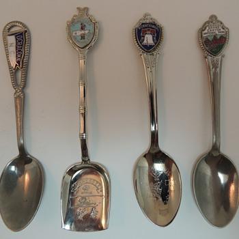 Souvenir Spoons - II - Advertising