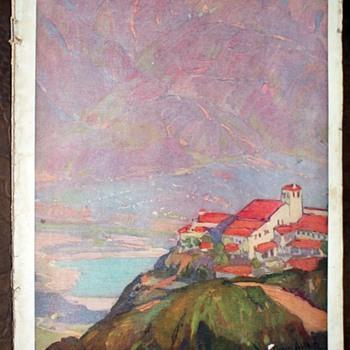 Southern California through the Camera - 1920s Tourist Brochure