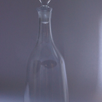 Sugar Loaf Decanter - Art Glass