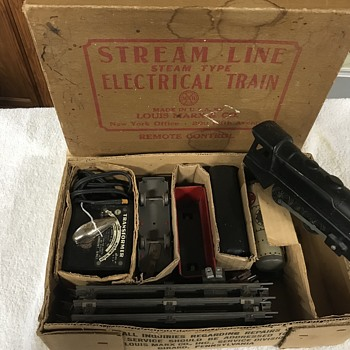 Original Marx electric train set  - Model Trains