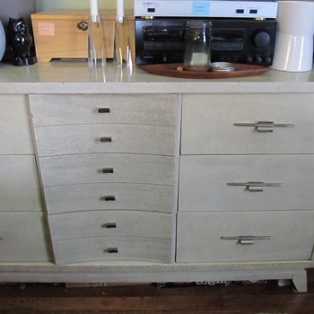 Hooker Mainline set from around 1957 - Furniture