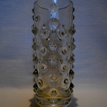 Sklo Union Cylindrical Vase.....Pavel Panek - Art Glass