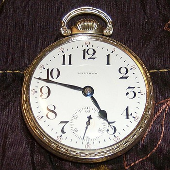 1906 Waltham Crescent Street Pocket Watch