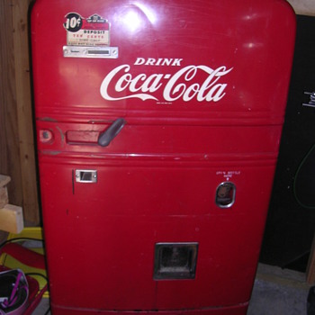My Westinghouse BV-56 still running Coke machine - Coca-Cola