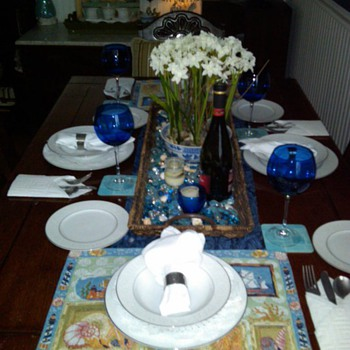 Style House - Brocade Collection/Pattern Fine China - China and Dinnerware
