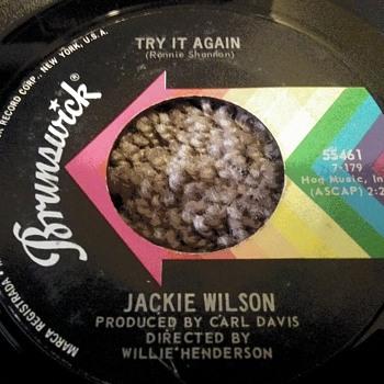Mr. Jackie Wilson....On 45 RPM Vinyl - Records
