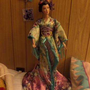 A Beautiful Geisha Girl