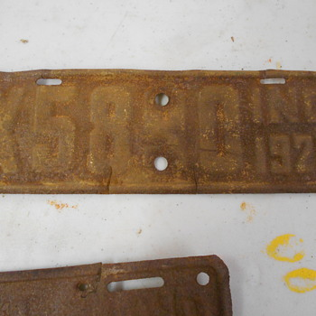 20,22,& 23 Indiana Motor cyle plates - Classic Cars