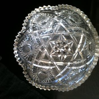 Lead Crystal Matching Set