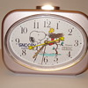 """SNOOPY AND WOODSTOCK CITIZEN QUARTS/ JAPAN  ALARM CLOCK. """"BOUGHT FOR GRANDAUGHTER"""""""