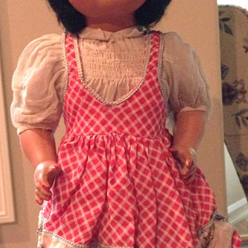 """""""Italian"""" doll circa 1960"""