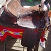 Reworked Western Saddle