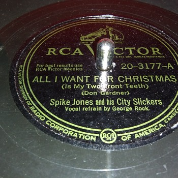 "10"" SHELLAC DISC....#5 - Records"