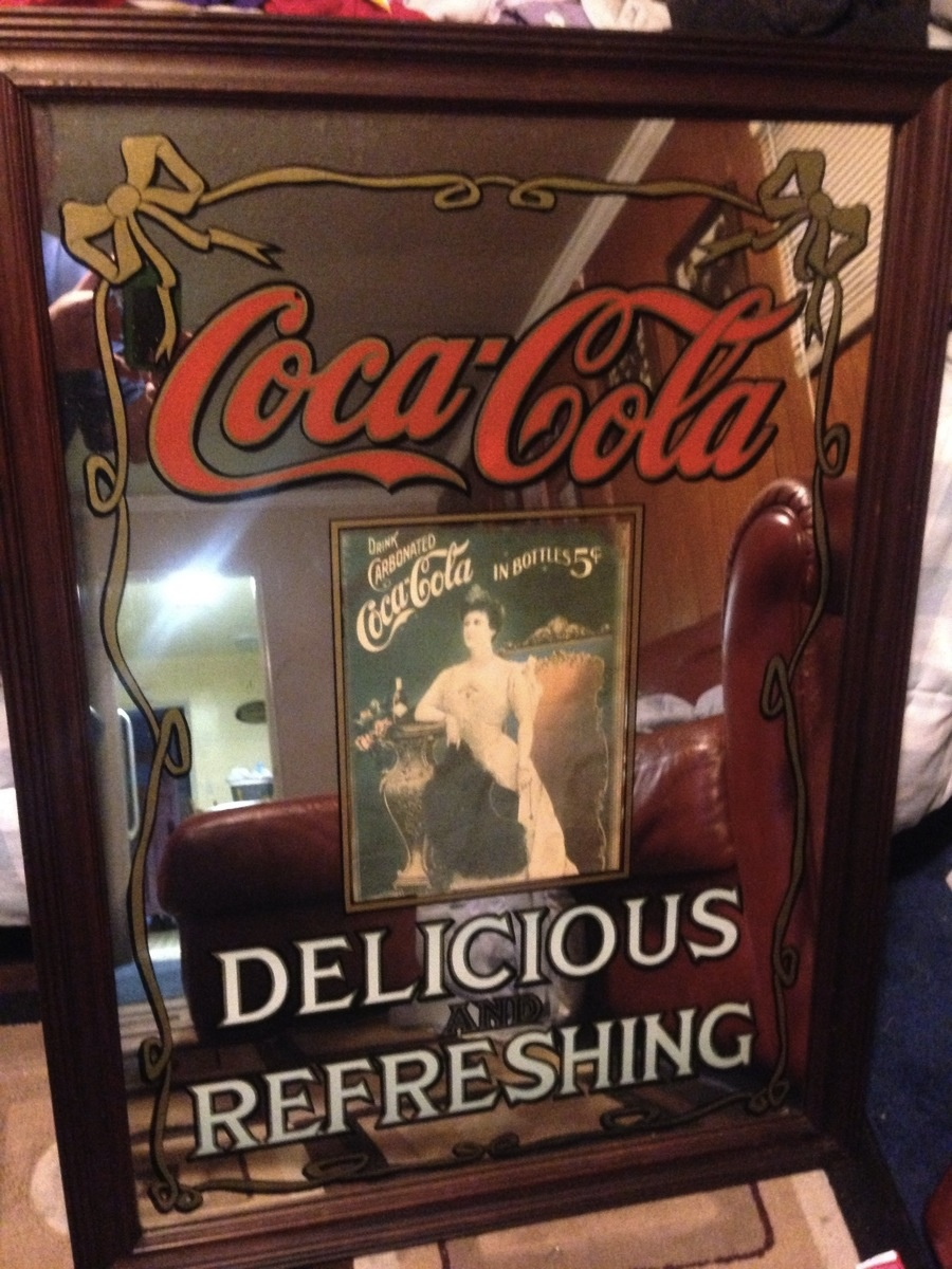 Vintage Coca Cola Mirror Collectors Weekly