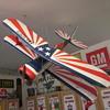 Vintage Model Biplane