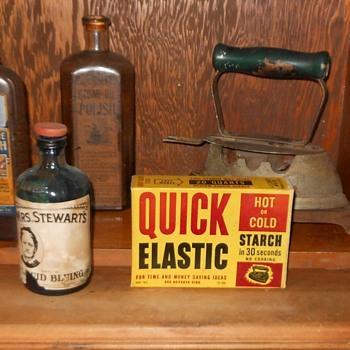 Mrs Stewart's Liquid Bluing and Quick Elastic Starch - Advertising