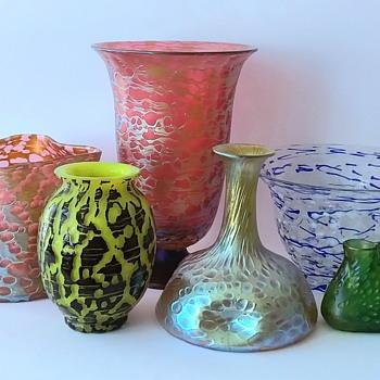 "Loetz: The irregular spherical decoration (""Diaspora"") and its possibilities of transformation. - Art Glass"