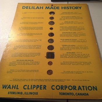 Wahl Clipper in store display?? - World Coins