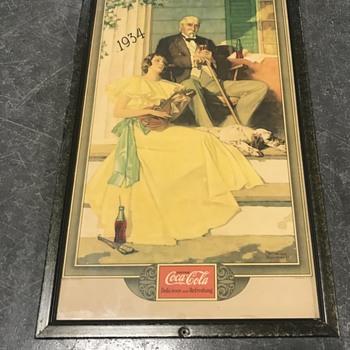 Coca Cola Norman Rockwell print 1934 - Coca-Cola