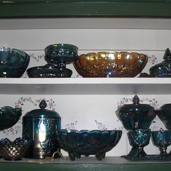 Carnival glass - Glassware