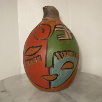 This is a piece of Chulucanas, peru pottery by Miguel Rivas that i got about 3 weeks ago - Pottery
