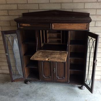 English oak bureau - Furniture