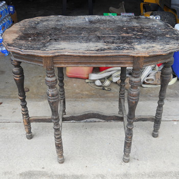 some kind of old coffee table - Furniture