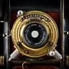Brass Volute Shutter. c.1902 (the beauty of early camera shutters #9)