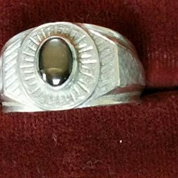 Granddad's Ring?  No note....has 14K stamp