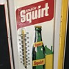 Squirt soda thermometer dated 1971