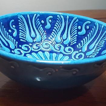 Blue Bowl - Pottery