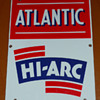 Atlantic Hi~Arc Gasoline Pump Sign