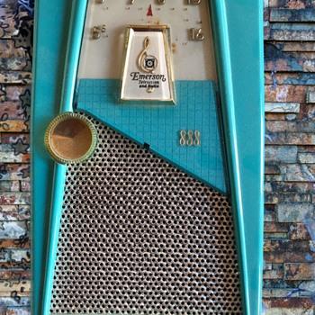 "Emerson 888 ""Explorer"" Transistor Radio - Radios"