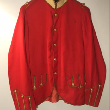 Victorian Highland Light Infantry Officer's Patrol Frock  - Military and Wartime