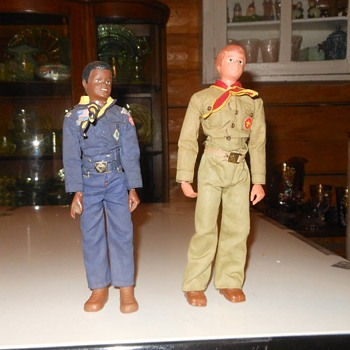 Kenner Dave Cub (1975) and Steve Scout (1974) - Toys