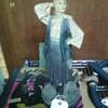 Vintage Dutch Lady Deena Lamp Chalk ware