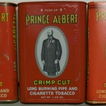 Some of My Prince Albert Pocket Tins. - Advertising