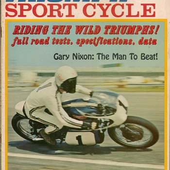1968 - Sport Cycle Magzine - Triumph Issue - Paper