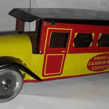 Upton Mach Company Cannon ball express bus - Toys