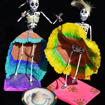 Dia de los Muertos - Folk Art