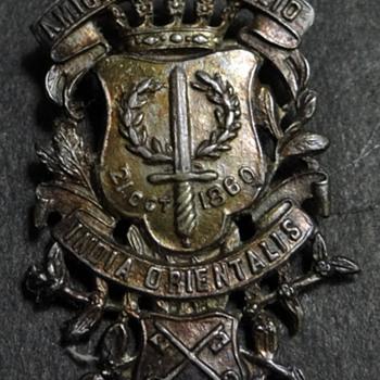AMICITIA IN EXSILIO INDIA ORIENTALIS Medal