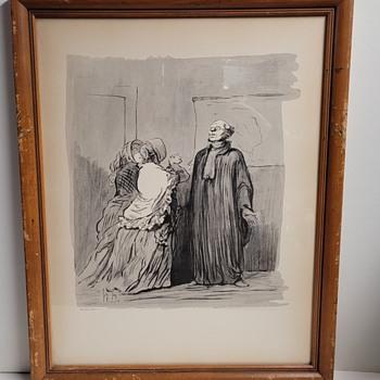Honoré Daumier Prints  - Posters and Prints
