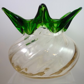 Loetz Ausführung 57 vase, PN II-5499, ca. 1908 - Art Glass