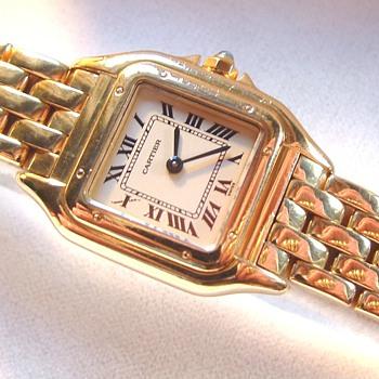 My Dream Cartier Watch