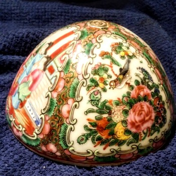 Chinese Famille Rose Dome cover lid?