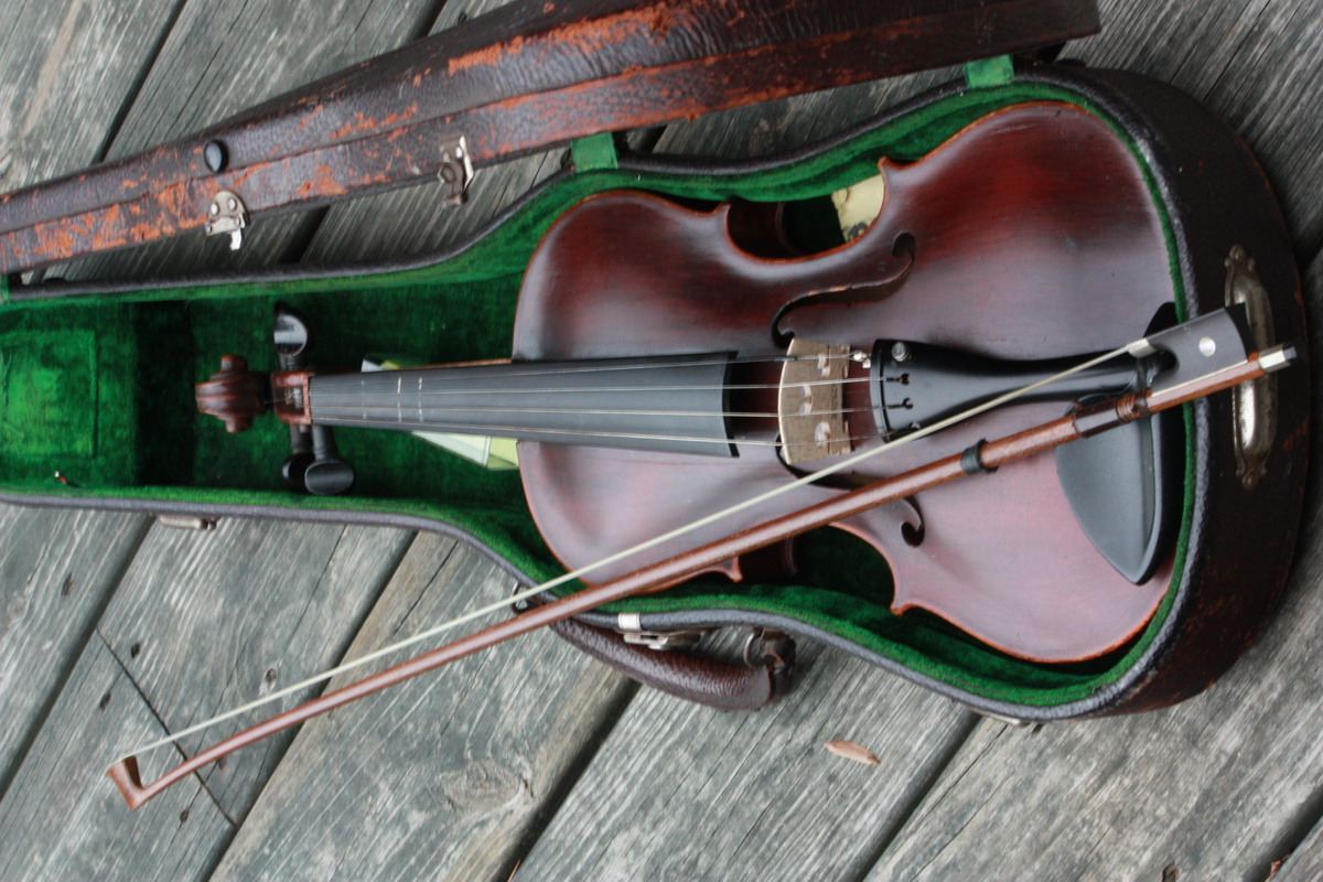 My Great Grandfather's Fiddle (Jacobus Stainer) Late 1800's