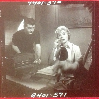 Janet Leigh Photo on movie set of Psycho