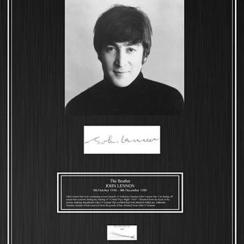 John Lennon's hair-1964 - Music Memorabilia