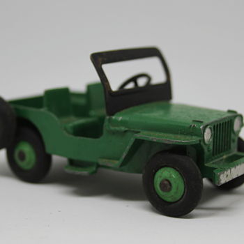 Dinky Jeep (civilian version) - Model Cars