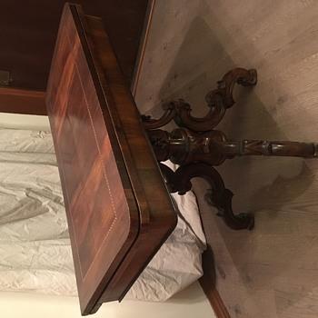 Grandmas Card Table - Furniture